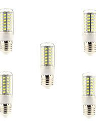 cheap -5pcs 5 W LED Corn Lights 600 lm E26 / E27 69 LED Beads SMD 5730 Natural White 220-240 V / 5 pcs