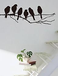 cheap -Cartoon Wall Stickers Animal Wall Stickers Decorative Wall Stickers, Vinyl Home Decoration Wall Decal Wall Decoration / Removable