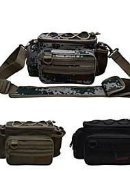 cheap -Trulinoya Multifunctional Waterproof Fishing Tackle Bag/Waist Bag