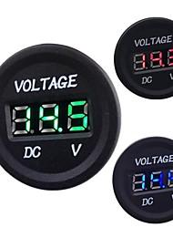 cheap -Automobile Motorcycle DC 12V to 24V LED Digital Voltmeter