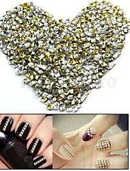 cheap -100pcs-2-5mm-punk-mixed-golden-silver-rivet-nail-art-decoration