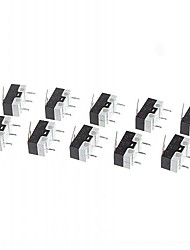 cheap -Micro Switch  for Electronics DIY 125V/1A  (10 Pieces a Pack)
