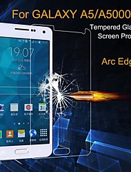 cheap -Screen Protector for Samsung Galaxy A5 Tempered Glass 1 pc High Definition (HD) / Explosion Proof Tempered Glass / Ultra-thin