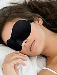 cheap -Travel Eye Mask / Sleep Mask Adjustable Portable 3D Breathability Seamless 1 set Traveling Sponge