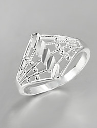 cheap -Silver Screen Color Sterling Silver Silver Statement Party Jewelry filigree