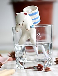 cheap -NEJE Self Watering Animal Plant Planters - Polar Bear with Cup