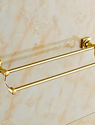 cheap -Towel Bar Contemporary Brass 1 pc - Hotel bath 2-tower bar