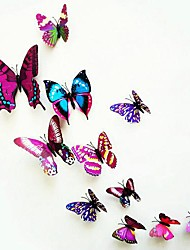 Недорогие -Животные Наклейки 3D наклейки Декоративные наклейки на стены, Винил Украшение дома Наклейка на стену Стена Украшение