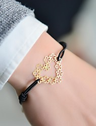 cheap -Women's Charm Bracelet Heart Love Nylon Bracelet Jewelry For Wedding Party Daily Casual Sports