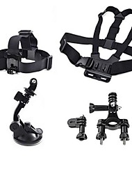 cheap -Chest Harness Front Mounting Suction Cup For Action Camera All Gopro Gopro 5 Gopro 4 Gopro 4 Session Gopro 3 Diving Surfing Universal Plastic Nylon / Gopro 1 / Gopro 2 / Gopro 3+ / Gopro 3/2/1