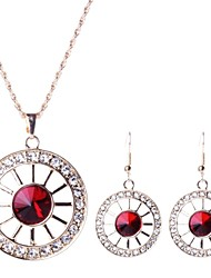 cheap -Women's Fashion Cut Out Alloy Jewelry Set(Including Necklaces Earrings)