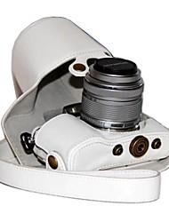 Недорогие -dengpin® пу кожаный чехол для камеры сумка чехол для Olympus PEN электронной PL7 epl7 с 17мм или объективом 14-42мм