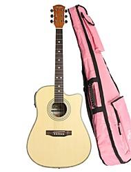 Недорогие -shuffle41 дюймов недостающие угол баллада гитары + EQ