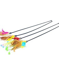 cheap -Teaser Feather Toy Cat Cat Toy Pet Toy Stick Textile Gift