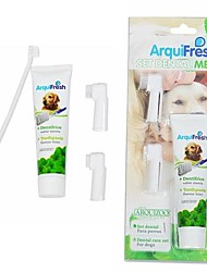 cheap -Toothpaste and Toothbrush Cleaning Suit for Pet Dogs