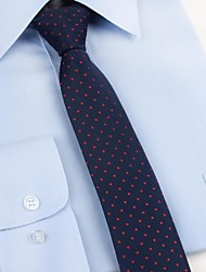 cheap -Men's Party / Work / Basic Necktie - Polka Dot Print