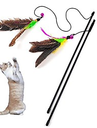 cheap -Teaser Feather Toy Bell Textile For Cat Toy