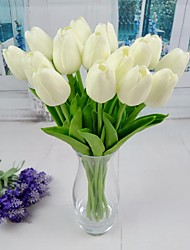 cheap -Artificial Flowers 6 Branch Simple Style Tulips Tabletop Flower
