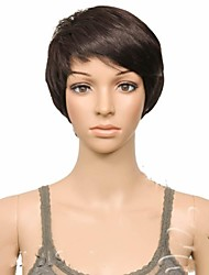 cheap -Synthetic Wig Curly Curly Straight Wig Brown Synthetic Hair Women's Brown hairjoy