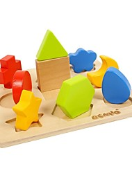 cheap -BENHO Brich Wood Plywood Shape Sorter Board-Ⅰ Wooden Toy