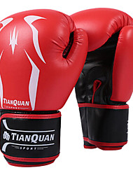 cheap -Boxing Bag Gloves Pro Boxing Gloves Boxing Training Gloves For Martial Arts Mixed Martial Arts (MMA) Full Finger Gloves Protective PU(Polyurethane) Kid's Men's - Red