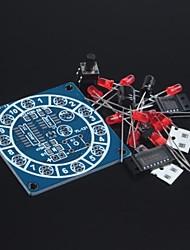 Недорогие -Электронное колесо комплект удачи / приколы электронные комплекты / электронных кости / Сделай сам электронный производство