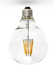 cheap -1pc 6 W LED Filament Bulbs 600 lm E26 / E27 G125 6 LED Beads COB Dimmable Warm White 220-240 V 110-130 V / RoHS