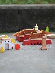 cheap -BENHO Building Blocks Beech Wood Impression Of Beijing Wooden Toy Education Toy