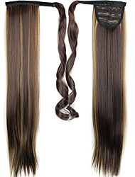 cheap -Ponytails Hair Piece Hair Extension Daily / Straight
