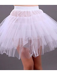 cheap -Wedding / Special Occasion / Party / Evening Slips Tulle Short-Length A-Line Slip / Ball Gown Slip / Classic & Timeless with
