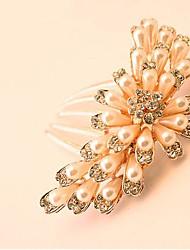 Недорогие -Красивая невеста популярным бутика модной одежды класса люкс горный хрусталь волосы расческой