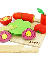 cheap -BENHO Rubber Wood Vegetable Set Wooden Education Role Player Toy