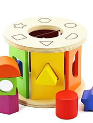 cheap -BENHO Birch Wood Shape Sorting Wheel Wooden Puzzle Toy