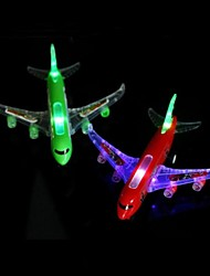 cheap -Flashing Remote Control Airplane (Random Colour)