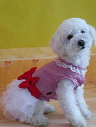 cheap -Dog Dress Dog Clothes Cotton Costume For Summer