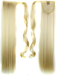cheap -Ponytails Hair Piece Hair Extension Daily / Blonde / Straight