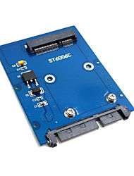 "cheap -Slim Type Mini PCI-E mSATA SSD to 2.5"" SATA 3.0 22pin HDD Adapter Hard Disk PCBA"