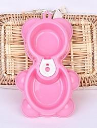 cheap -Bowls & Water Bottles Pet Bowls & Feeding Waterproof Cosplay Coffee Green Blue Blushing Pink