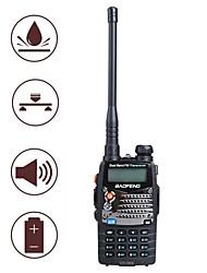 cheap -BF-UV5RA Handheld / Anolog Emergency Alarm / Low Battery Warning / PC Software Programmable 3KM-5KM 3KM-5KM 1800mAh 5W/1W Walkie Talkie Two Way Radio