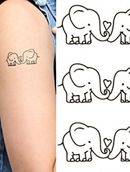 cheap -1 pcs Temporary Tattoos Eco-friendly / New Design Body / Hand / Shoulder Water-Transfer Sticker Tattoo Stickers