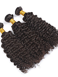 cheap -PANSY Weft Human Hair Extensions Curly / Kinky Curly Human Hair Brazilian Hair Women's