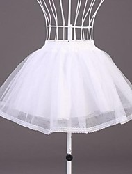 cheap -Wedding / Special Occasion Slips Organza / Polyester Short-Length A-Line Slip with Lace