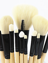 cheap -12 Makeup Brush Set Synthetic Hair Nylon Eye Face Lip