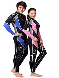 cheap -DiveSail 3MM Warm Wet Suits Neoprene Scuba Diving Surf Spearfishing Winter Swim One Piece Suits set For Men And Women