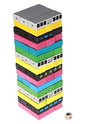 cheap -Stacking Game Wood Balance Kid's Adults' Toys Gifts