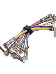 Недорогие -Джойо см 11 красочные кабель для педали гитары бас 6шт / много педаль гитарный кабель