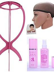 cheap -3PCS High quality wig super practical combination