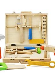 Недорогие -Игрушечные инструменты Ящики для инструментов совместимый Legoing Безопасность Классика Мальчики Игрушки Подарок