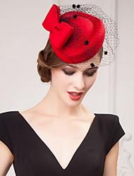 Недорогие -тюль атласные шляпы головной убор свадебная вечеринка элегантный женственный стиль