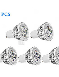 cheap -5pcs 4 W LED Spotlight 300 lm GU10 4 LED Beads High Power LED Dimmable Warm White Cold White 220-240 V 85-265 V / 5 pcs / RoHS